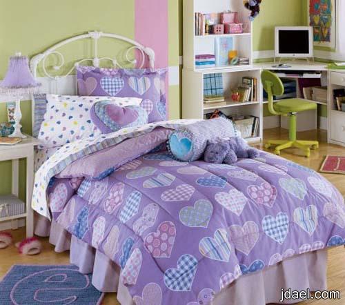 ديكورات غرف نوم اطفال 2013 بترتيبات والوان عصريه