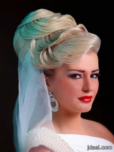 اروع تسريحات العروسه تساريح وميكب ليلة الزفاف والخطوبه ميك روعه