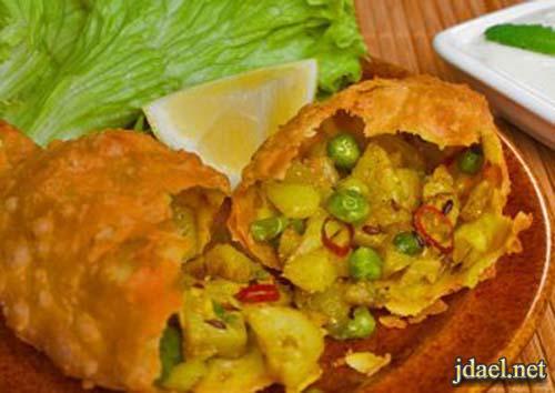 طريقة عمل عجينة سمبوسه بالبطاطس روعة المطبخ الهندي
