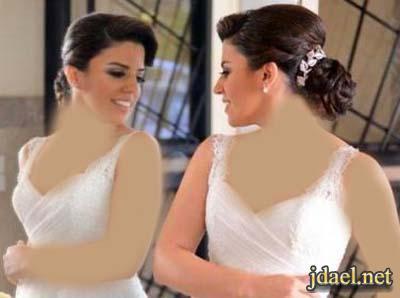 تسريحات شعر بتصفيف رومنسي للعروسه الرومنسيه للعرس