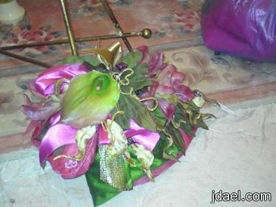 بصمة تميزك تزيين السلال وباقات الورود زيني الهدايا بيدك تزيين