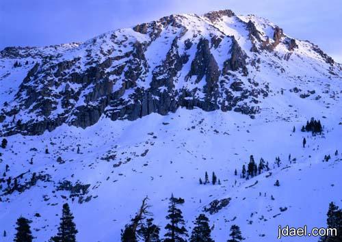 صور الطبيعه الشتاء صور روعه للثلج وسقوط الامطار بالصور المتحركه
