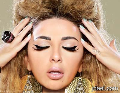مكياج مريام فارس واجمل رسمات العيون والحواجب لاطلاله طبيعيه