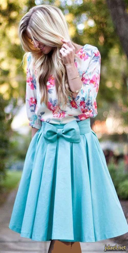 فساتين وملابس الصيف واستقبال النسيم بأناقة صيفية زاهية