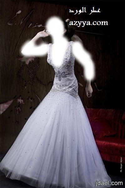 6664823b6ff3f فساتين الزفاف بروعة الموديلات الناعمه للعروسه - منتدى جدايل
