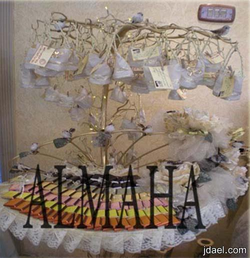 ديكورات وتصاميم لغرف النفاس والولاده بموديل الورد النافر واجمل التقديمات والتوزيعات