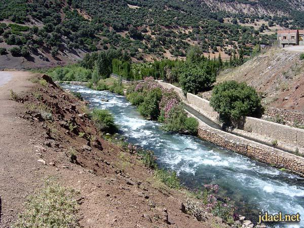نهر الربيع واجمل سياحة المغرب