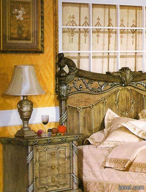 غرف نوم دمياطى جرار وموديلات منوعه