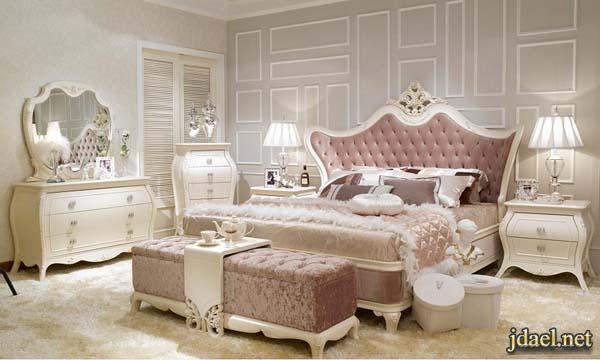 غرف نوم تركي كلاسيك للغرف الكبيرة والبيوت الفخمة