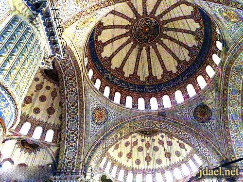 العمارة العثمانيه وابداع النقش الاسلامي مساجد تركيا