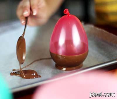 اسهل طريقه لعمل اكواب الشوكولاته البيت بيدك بالصور
