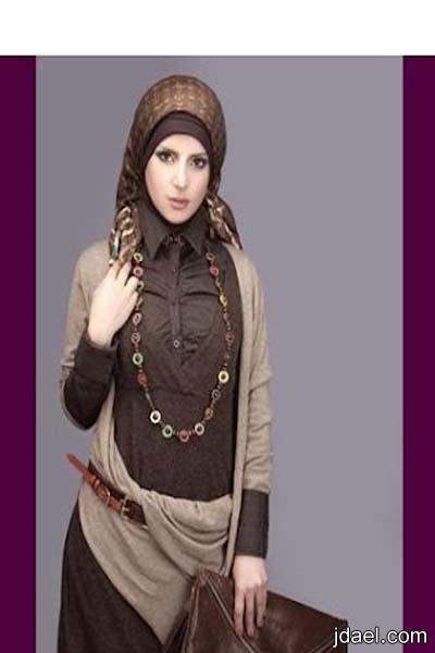ملابس نسائيه للمحجبات تشكيلة ربيع وصيف 2012 لملابس الحجاب