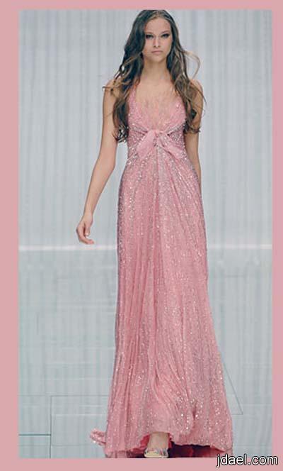 فساتين ترتر للمصمم ايلي صعب ازياء تصميم لبناني للسهرات