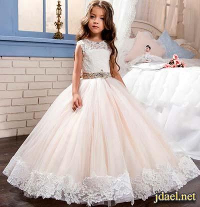 اروع فساتين اعراس للبنات الاطفال فساتين زفاف للبنوتات