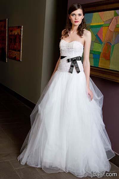 فساتين اعراس للمصممه زينه كاش فساتين زفاف للعروسه روعه