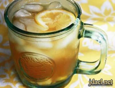 شاي الزنجبيل المثلج لنحافة وشد الجسم ويحارب التعب والارهاق