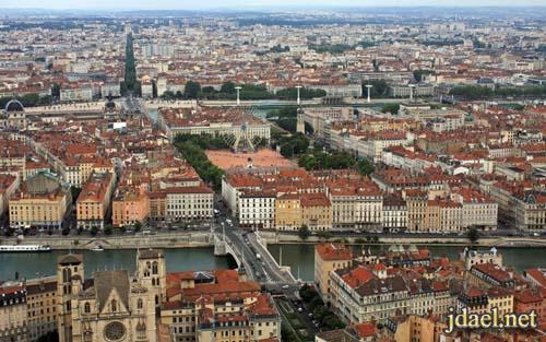 مدينة ليون الفرنسيه وسحر السياحه والمتعه