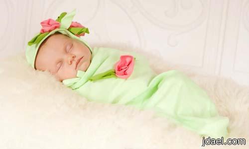 لفات للبيبي المولود لبس السبوع للنونو كفولة الطفل بموديلات جديده