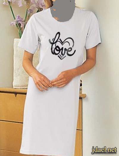 بجايم وقمصان قطن وملابس النوم والبيت للبنات