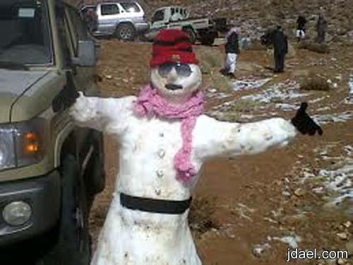 سياحه شمال السعوديه على جبال اللوزفي تبوك