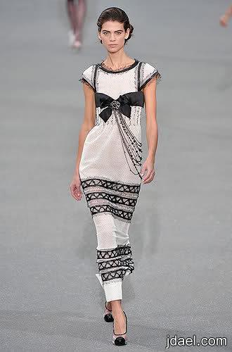 مجموعة الألبسة الجاهزة لربيع وصيف 2009 من شانيل