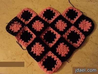 طريقة عمل شال كروشية للاطفال from upload.jdael.net