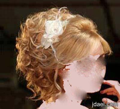 تسريحات شعر للعروسه ليلة العرس باحلى تساريح الشعر الطويل