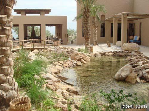 رحله سياحيه منتجع الحواس الست سلطنة عمان