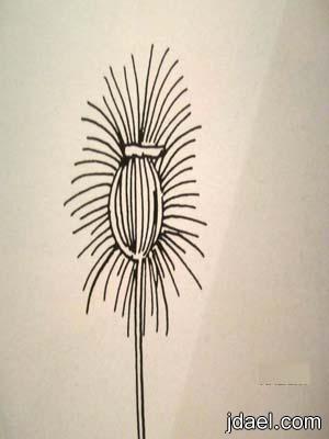 طريقة صنع زهور القش واستخداماتة