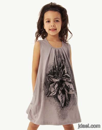 ملابس صيفيه للبنات واحلى موديلات الفساتين قماش الكتان لاناقة البنوته