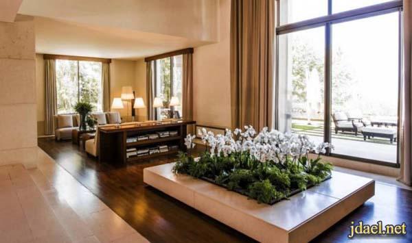 صور ديكورات منزل مصمم الازياء ايلي صعب لبنان