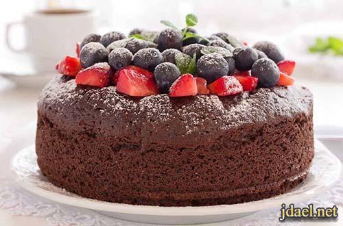 احلى نوع كيك بالشوكولاتة بطريقة صحية والطعم روعة