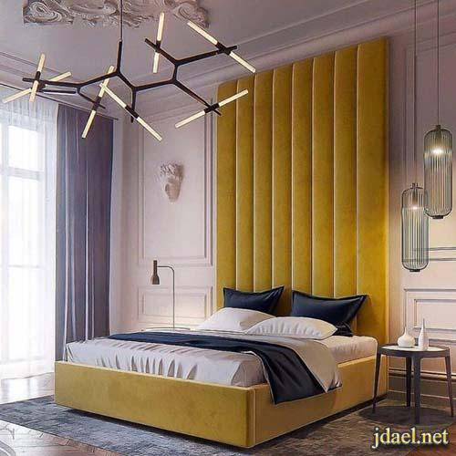 ديكور غرف نوم فخمة والوان عصرية غاية الجمال