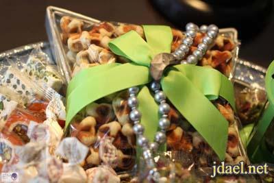 تقديمات انستقرام وافكار حلاوة العيد لضيافه الضيوف بالصور