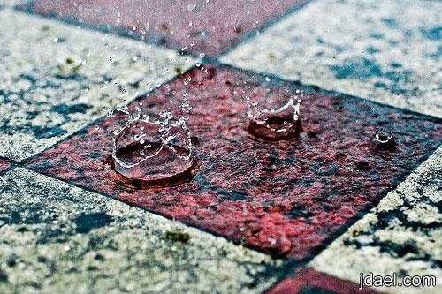 امطار غزيره مناظر لنزول المطر صور متحركه للمطره