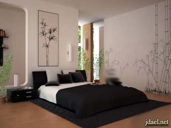 غرف استقبال ومعيشة وغرف نوم بالطابع الياباني للشقق الصغيرة