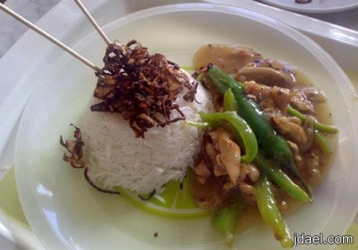 طريقة عمل دجاج كاري والارز بالطريقه اليابانيه