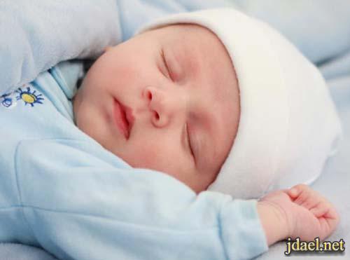 صور حالات نوم للاطفال بنات واولاد اوضاع النوم للبيبي