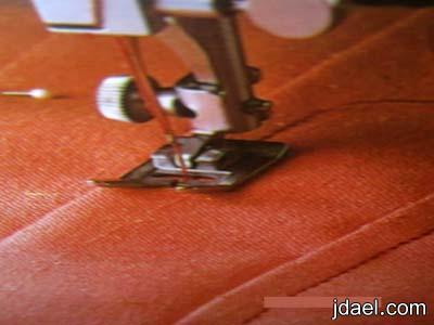 طريقة خياطة الكسرات الصندوقيه والنصلية خياطة الكسره المقلوبه