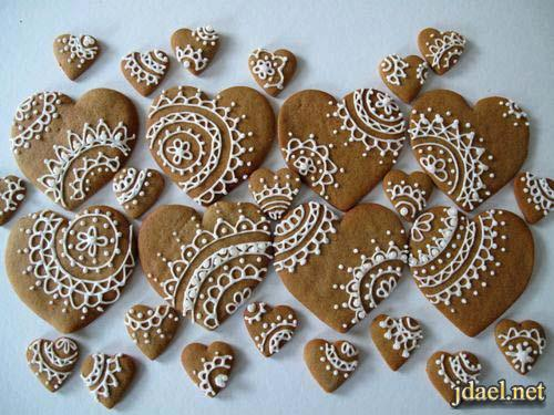 ابداع تزيين الحلويات والبيتفورات باليد مثل شبيكة السكر