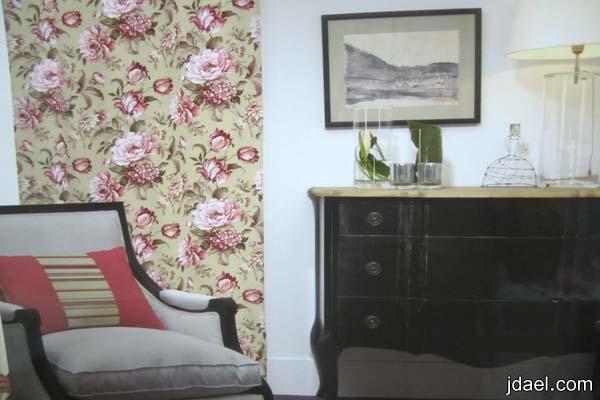 اختيار اقمشة التلبيس للكنبات والجلسات لغرف المعيشة