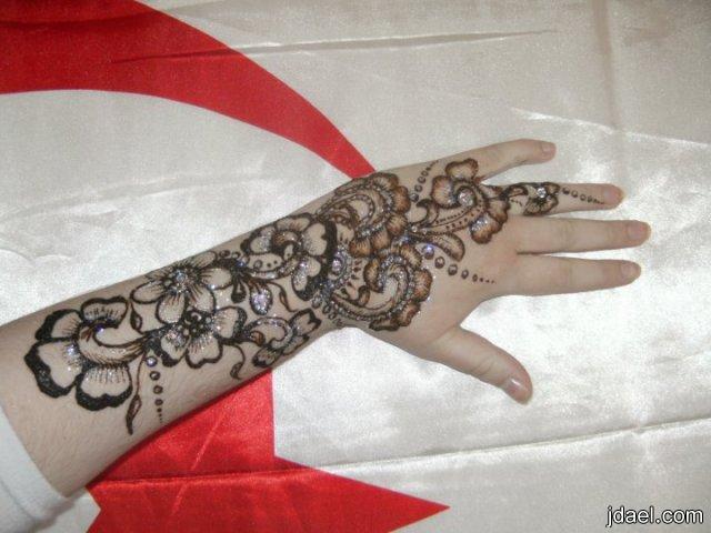 نقش حناء للعرائس والخطوبة صور نقش الحناء على الايادي