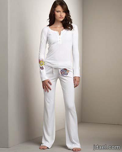 اجمل ملابس النوم قمصان نوم قصيره بيجامات بموديلات متنوعه