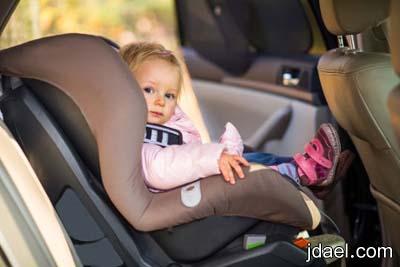 شروط سلامة الطفل السياره وتجنب الاخطاء