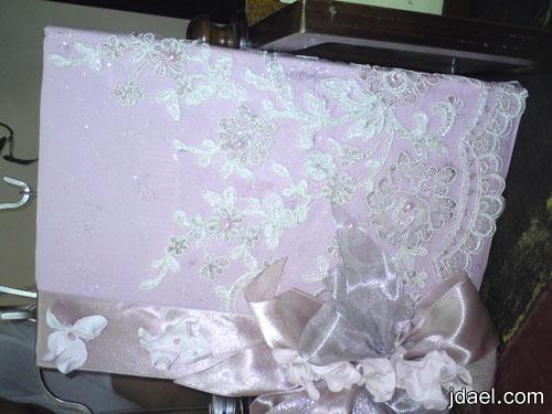 دفتر الاهداءات تنسيق دفاتر تذكار العروسه ليلة الخطوبه والزفاف