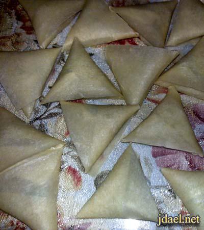 سمبوسه ماش بالكراث برقاق سويتز لفطور رمضان