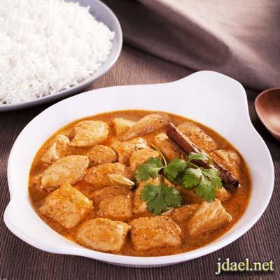 دجاج بالكريمه والزبده المطبخ الهندي واحلى الاكلات الهنديه