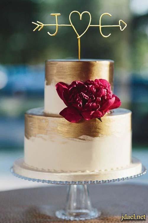 احلى افكار تصميم كيك وتورتة ليلة الزفاف والخطوبة
