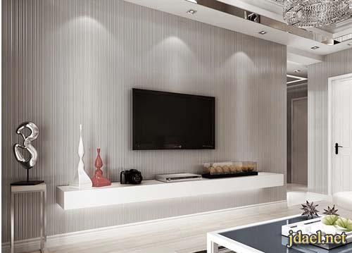 ورق جدران لغرف الاستقبال والصالات باجمل الخلفيات المخمليه
