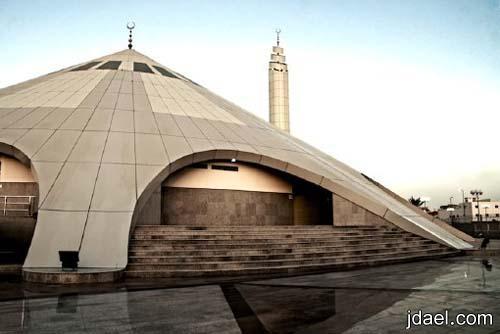 صور مسجد عائشه بجده تحفه معماريه بالمملكه العربيه السعويه